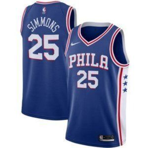 Nike Men's Philadelphia 76ers Ben Simmons Jersey